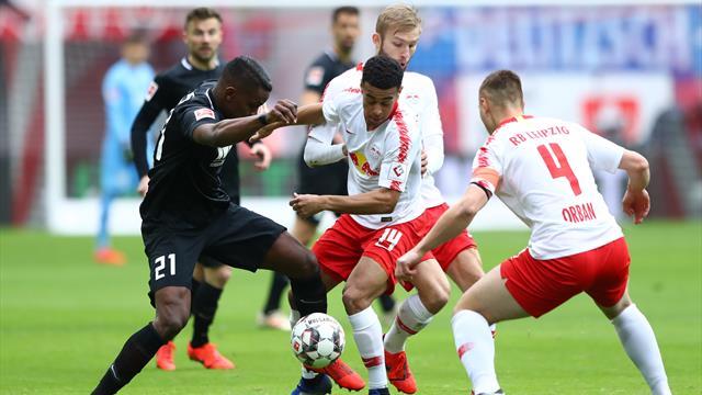 Bundesliga Rb Leipzig Mit Nullnummer Gegen Den Fc Augsburg