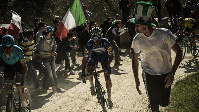 Strade Bianche | Alaphilippe wint Strade Bianche