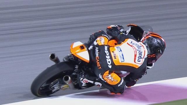 Moto3|  Pole voor Aron Canet in Qatar