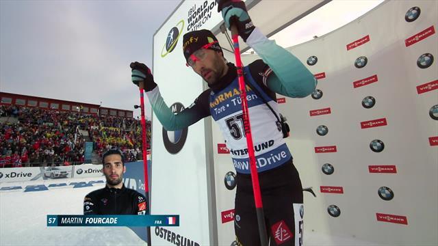 WK Östersund | Fourcade stelt teleur met zesde plek in sprint