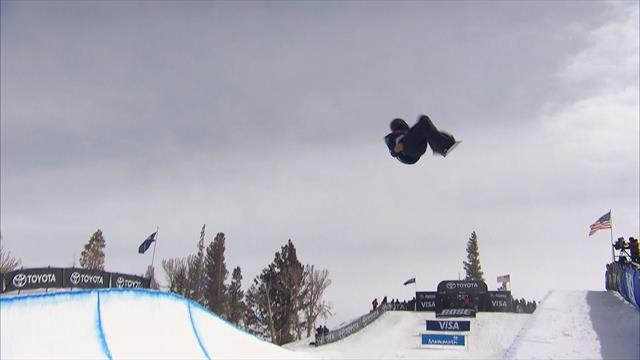 Cai Xuetong seals victory in Ladies' Halfpipe