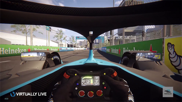 Formula E Hong Kong: Recorre el Central Harborfront de manera virtual