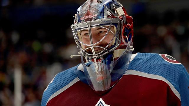 NHL: Grubauer siegt mit Colorado im Play-off-Rennen