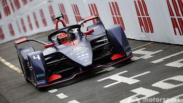 Hong Kong E-Prix: Frijns quickest in wet practice