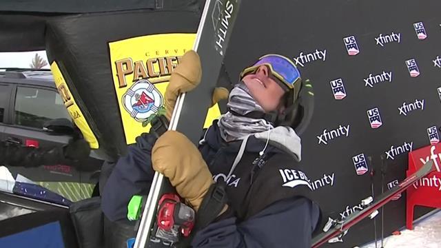 Irving wins halfpipe title at U.S. Grand Prix