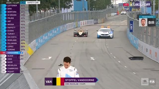 Formula E, E-Prix Hong Kong: Vandoorne, de la Superpole a quedarse fuera y sumar un rosco