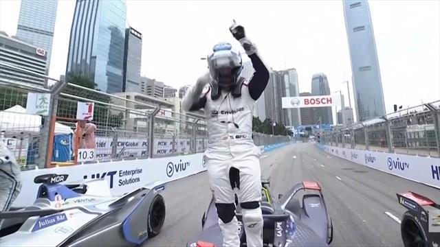 Formula E, ePrix Hong Kong: Las imágenes de la victoria de Bird que le coloca líder del Mundial