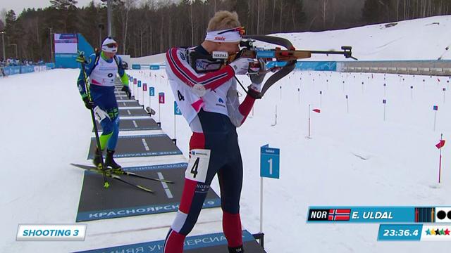Universiada 2019: El noruego Espen Uldal logra el oro en el biatlón 15 km