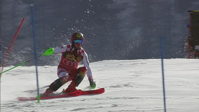 'We're used to seeing him dance, not battle' - Hirscher struggles in soft snow