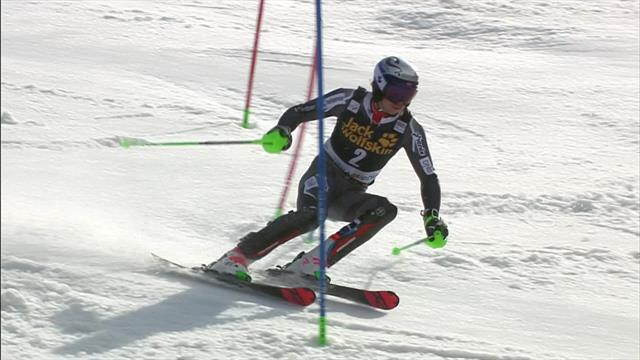 Kristoffersen finishes second in Kranjska Gora Slalom
