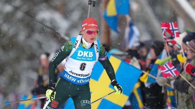 Herrmann becomes biathlon pursuit world champion