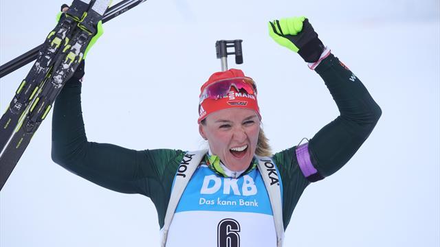 Mit Video | Sensationell! Herrmann holt WM-Gold im Verfolger - Bronze für Dahlmeier