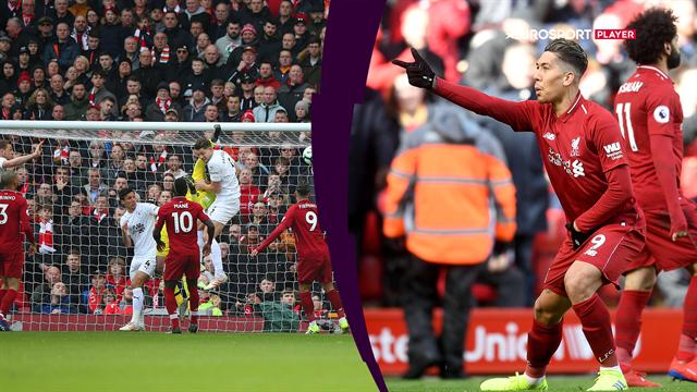 Highlights: Liverpool formår at tage alle point på Anfield efter højdramatisk kamp