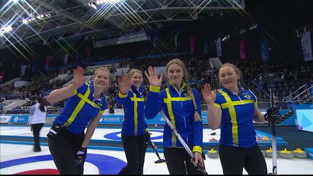 Highlights: Sweden beat Korea 8-3 in Curling