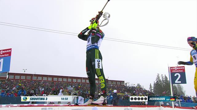 Herrmann wins maiden World Championships gold in pursuit