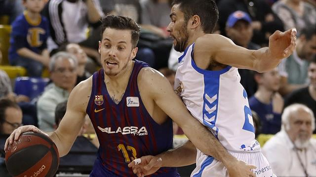 Liga ACB, Barcelona-Burgos: Proteger el liderato (97-88)
