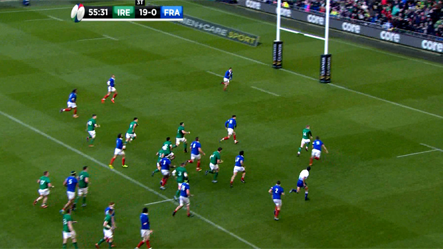 Dominio Irlanda a Dublino, la Francia si sveglia troppo tardi: 26-14
