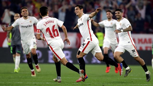 ⚽💪 El Sevilla golea a la Real (5-2) y el Villarreal sale del descenso tras ganar al Levante (0-2)