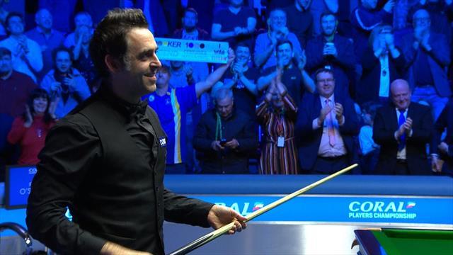 Ronnie O'Sullivan hace historia alcanzando las 1.000 centenas ganando el Player Championship
