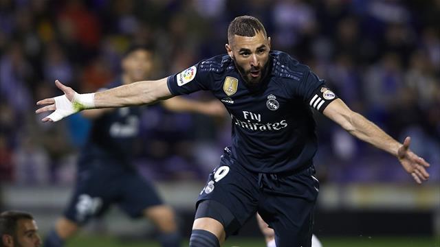 ⚽👀 El Real Madrid apacigua la crisis goleando (1-4) al Valladolid