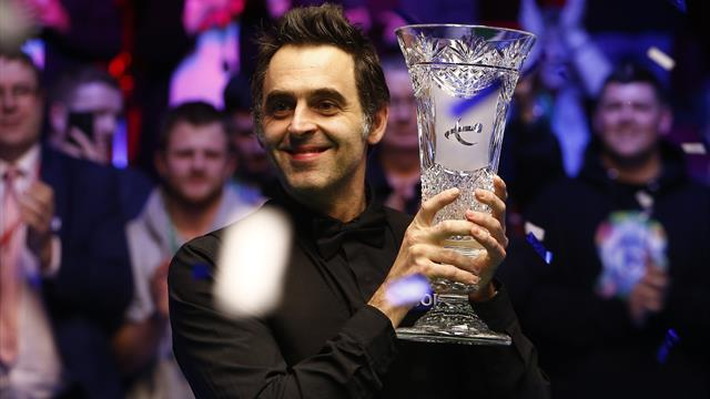 O'Sullivan notches 1,000th century in Players Championship victory