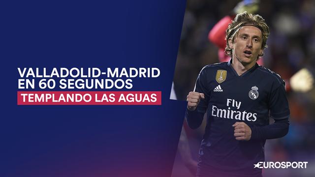 """El Valladolid-Real Madrid en 60"""": Templando las aguas (1-4)"""