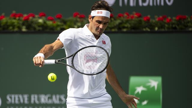 Federer wins Indian Wells opener, Nishikori survives three-setter