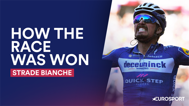 How The Race Was Won: Alaphilippe conquers Strade Bianche