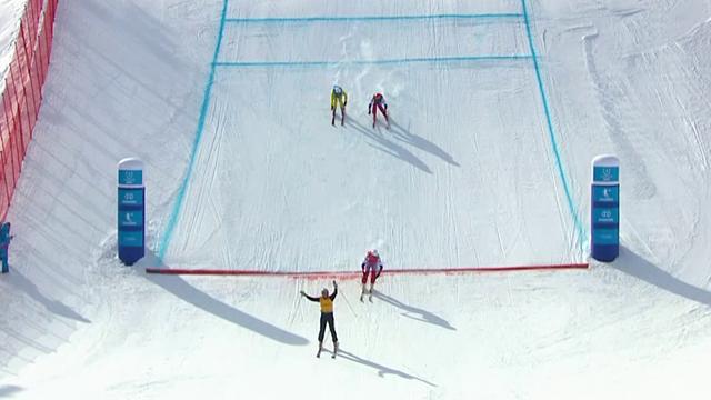 De ir el último a colgarse el oro: La ¿táctica? de Nabiulin para ganar el freestyle esquí cross