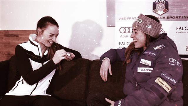 Sofia Goggia in esclusiva! Intervista a 360° con Tina Maze: infortuni, amore, Vonn, vittorie e...