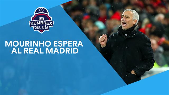 Mourinho, Mbappé, De Ligt, Cristiano y Neymar, los nombres del día
