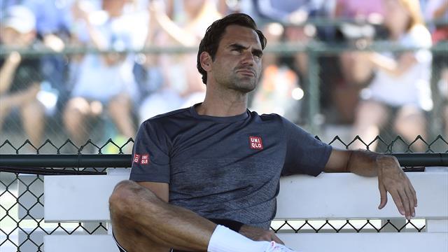 """Federer n'a pu voir Djokovic au sujet de Kermode : """"Il était sans doute très occupé..."""""""