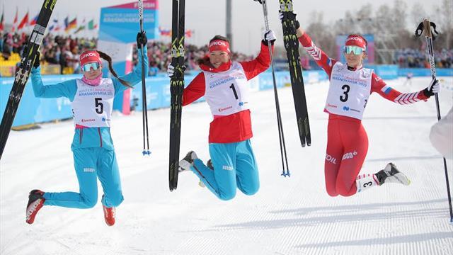 Russian cross-country star Zhambalova wins fourth gold medal at Winter Universiade