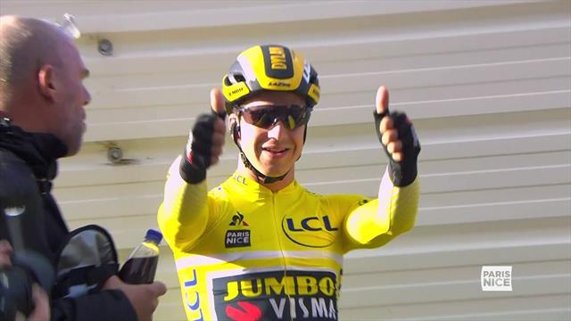 Groenewegen wins second straight sprint on Paris-Nice Stage 2