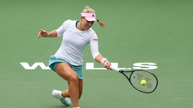 Angelique Kerber file en huitièmes de finale — Indian Wells
