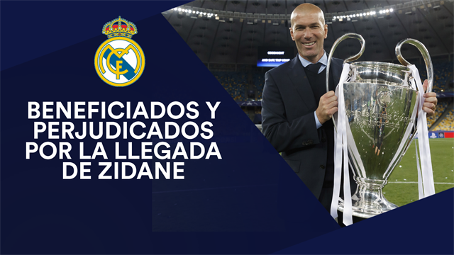 Beneficiados y perjudicados por la vuelta de Zidane