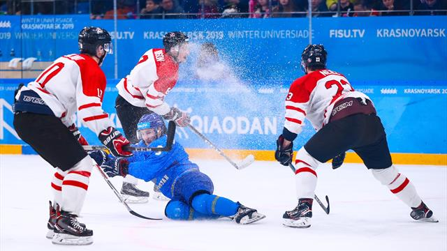 Highlights: Canada clinch bronze medal against Kazakhstan