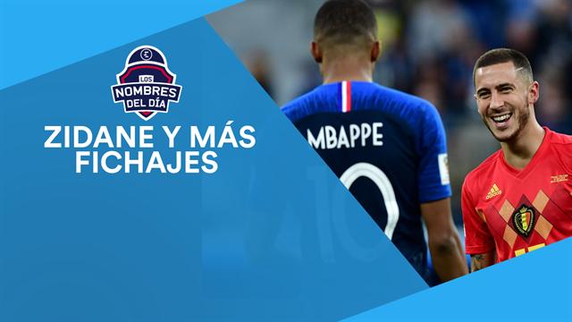 Zidane, Mbappé, Simeone y Nadal, los nombres del día