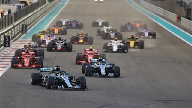 F1-Regeln für 2021 nehmen Formen an