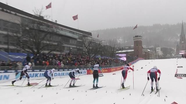 Sprint senza storia a Drammen: Klaebo vince e si prende il pettorale giallo