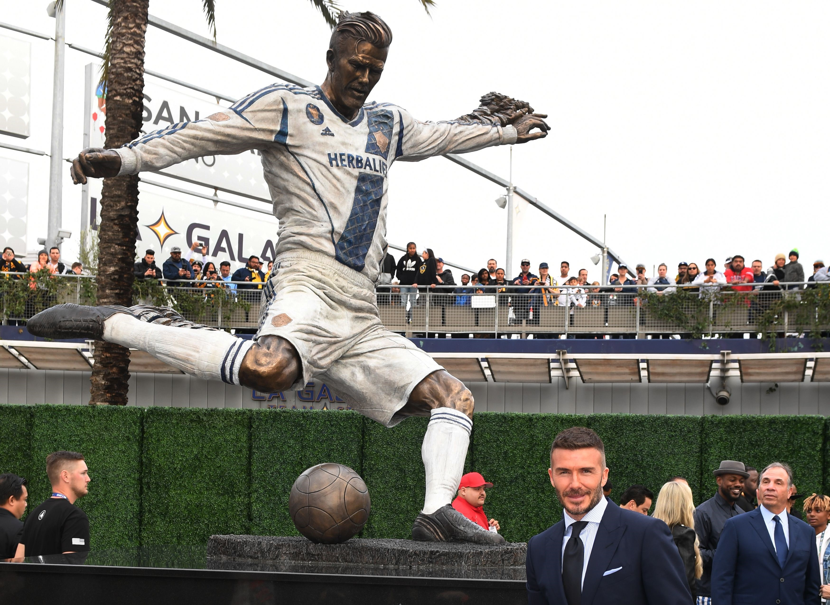 David Beckham statue, LA Galaxy