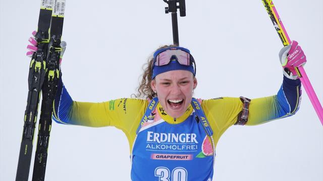 Highlights - Local hero Öberg wins gold