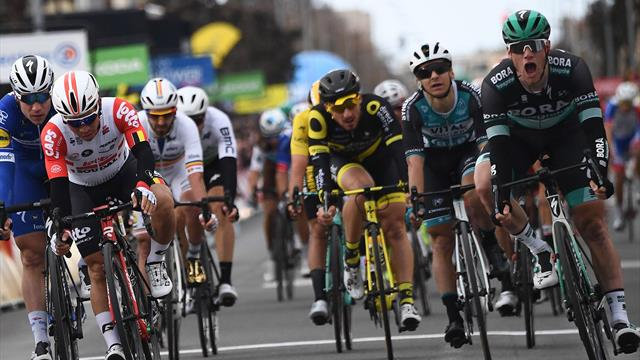 Bennett burns off rivals to claim stage three victory