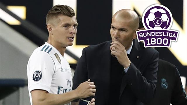 Bundesliga 1800 | Zidane räumt auf: Kroos' Zeit ist vorbei
