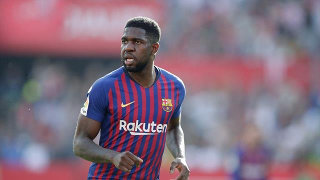 'I don't know where this rumour comes from' - Umtiti rubbishes Arsenal reports