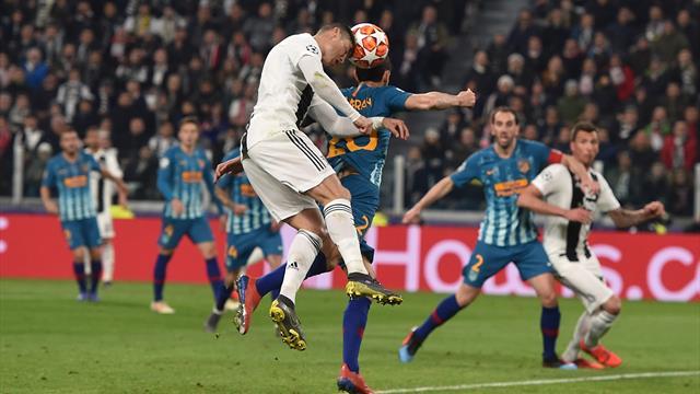"""Allegri : """"C'était impossible d'imaginer Ronaldo avec un seul but au compteur"""""""