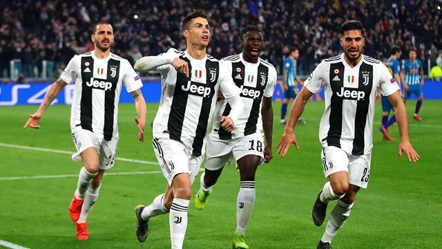 Le pagelle di Juventus-Atletico Madrid 3-0: Ronaldo e Bernardeschi show. Male Morata