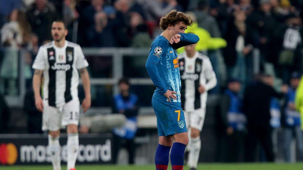 Griezmann ya estaba negociando con el Barcelona cuando cayó ante la Juventus.