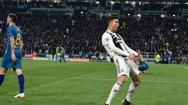 La célébration très osée de Ronaldo au coup de sifflet final