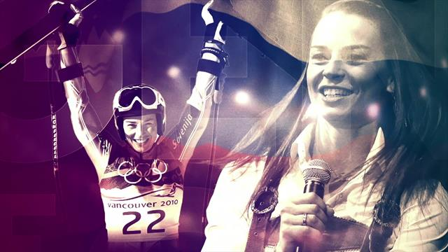 Leyendas de la nieve: Tina Maze, una de las campeonas más irrepetibles
